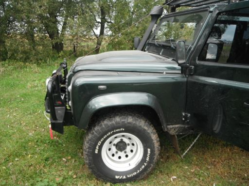 тюнинг land rover defender колёса