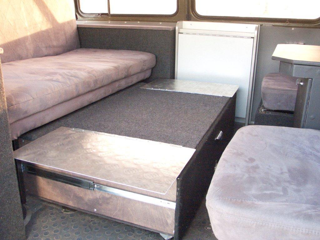 При желании в Буханке можно даже кровать поставить